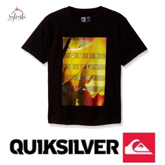 Quiksilver Mens Hoyo Fins T-Shirt Black